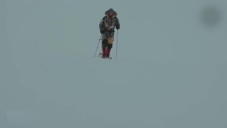 陆军中尉徒步千里 创下无协助独自抵达南极记录