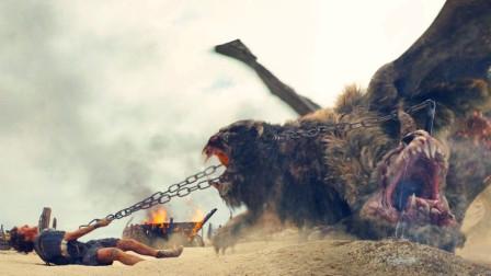 小伙乃是宙斯之子不但力大无穷还能轻而易举制服怪兽真厉害