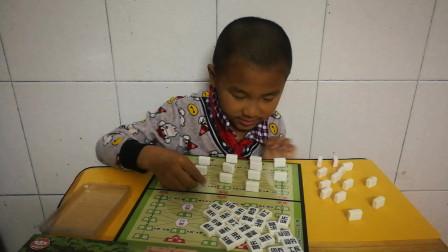 陆战棋玩具视频 儿童益智军棋入门解说 陆战棋 小孩认识军棋