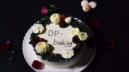 裱花磅蛋糕 美食与艺术的完美结合