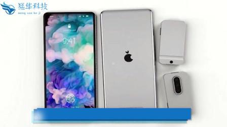 新款苹果手机模块化概念曝光,真全面屏帅到没朋友,快来感受一下