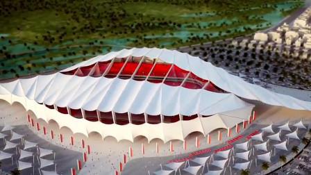 Al-Khor体育馆SketchUp建模思路