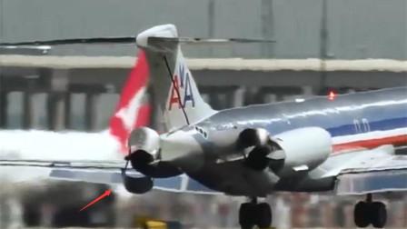 中短程航班首选,DC-9飞机短距起降性能优越,秘密就在发动机上