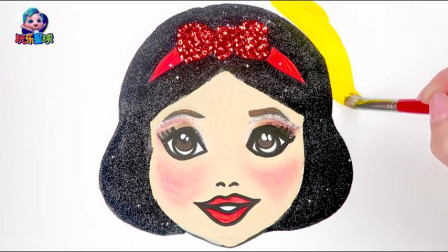 玩乐手工课 你听过白雪公主的故事吗?绘画迪士尼卡通人物简笔画