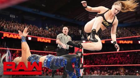 【RAW 03/18】隆达罗西20秒拿下比赛