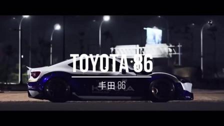 丰田86 看够了火箭兔、LB宽体,来一套不一样感觉的Karma 86如何?