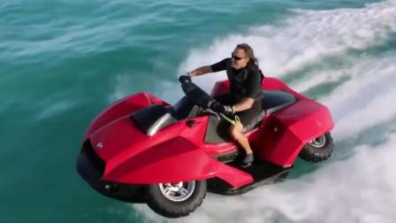 小型四轮驱动车, 变身超级快艇