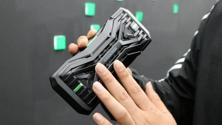 很酷的设备!黑鲨游戏手机2专用极冷晶片散热背夹演示