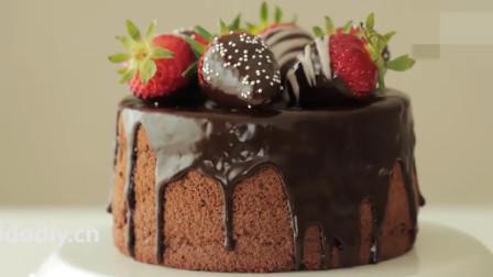 「烘焙教程」想做蛋糕学这一个就够啦—经典巧克力雪纺蛋糕
