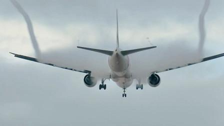 芒果撞地球 惊险! 飞机机翼喷出浓烟吓坏旅客