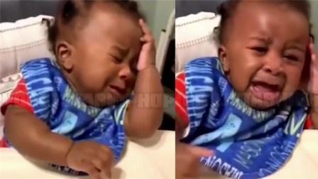 男童首次看到变了发型的爸爸 背过脸瞬间泪崩