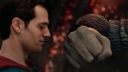 荒原狼:你们太弱小了,看不到真理!超人:是么?但是我相信真理
