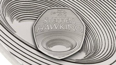 """霍金死了都不放过人家?英国皇家铸币厂,发售""""黑洞""""纪念币!"""