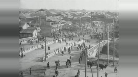 清朝末期的北京人,北京街头,转眼已是百年沧桑