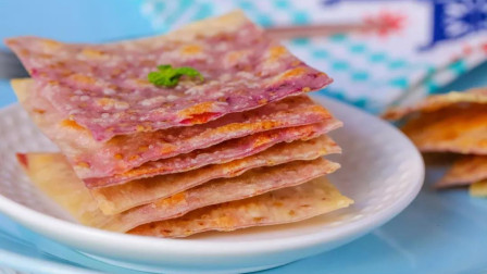 紫薯夹心薄脆  宝宝辅食食谱