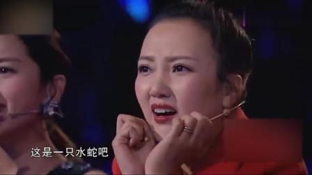 中国第一美女蛇,跳芭蕾舞让评委们尖叫