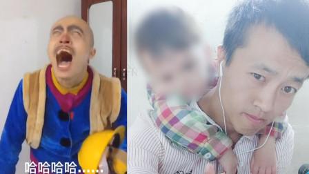 90后爸爸剃发扮光头强 拍搞笑视频 背后有心酸: