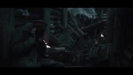 放逐:伤亡惨重的士兵,幸存者都呆呆的坐着