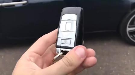 豪车的钥匙有多神奇,劳斯莱斯的钥匙按下去