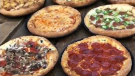 披萨还有这么多口味的
