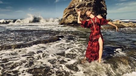 传奇超模吉赛尔·邦辰拍环保主题大片,犹如天神下凡