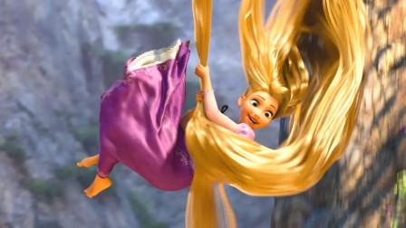 魔发奇缘隐藏剧情,长发公主从来不穿鞋子,原来是因为这个