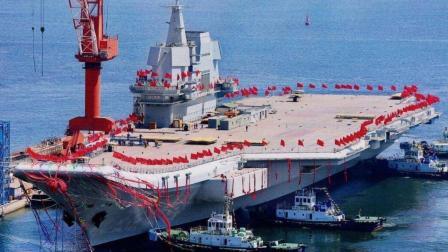 002航母甲板出现了什么变化 专家:梦想即将成真了