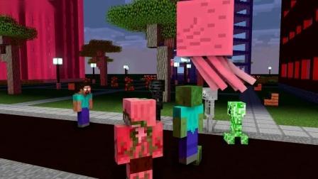 我的世界动画-怪物学院-丧尸之城-SpekMan