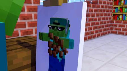 我的世界动画-怪物学院合辑-LazyMiner