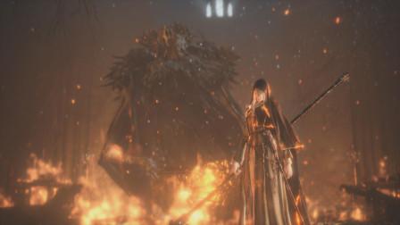 【QL00】《黑暗之魂3》中文剧情解说流程DLC画中世界-黑焰の芙利德