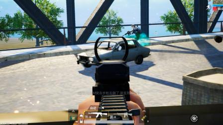 这才叫堵桥!一把单发M16在手,来一辆灭一辆!
