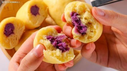紫薯夹心棒 宝宝辅食食谱