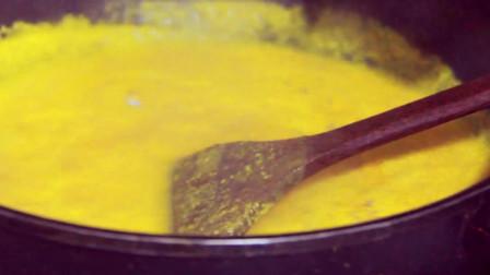 南瓜加牛奶轻松做出比西餐厅还好喝的奶油南瓜汤,喝过都说味道赞