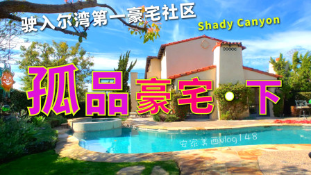 【代你看房】480万美元的艺术品级大宅(下) 尔湾最豪社区Shady Canyon【安家美西vlog148】