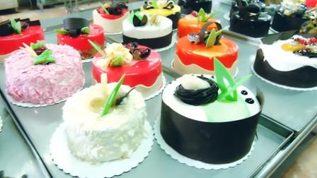 震撼的蛋糕工厂制作过程!满屏都是美味蛋糕,看得我口水直流