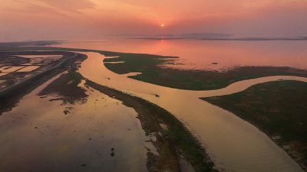 航拍中国之鄱阳湖