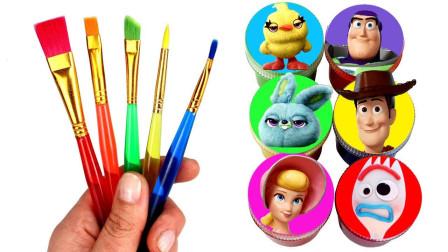 太有才了!快速教会你6款玩具总动员人物简笔画,还有玩具蛋惊喜