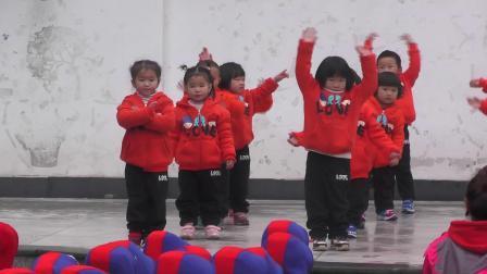 2018年滩头中心幼儿园冬运会小一班表演