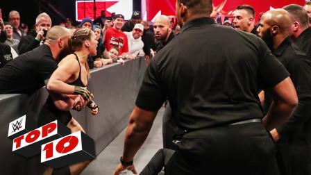 【RAW 03/18】十大精彩瞬间 隆达罗西携老公特拉维斯布朗一起现身