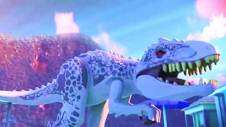 乐高侏罗纪世界之逃走的帝王暴龙:超白帝王暴龙的出现