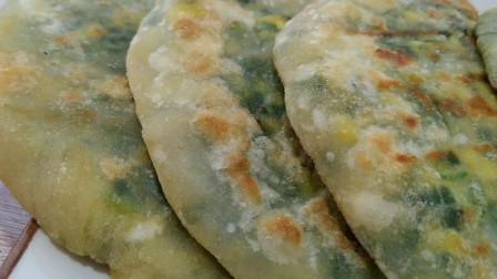 家常韭菜馅饼简单做法,好吃又方便,鲜美可口