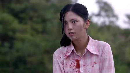 女战士被日本鬼子包围,接下来的一幕让人心碎