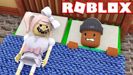 小格解说 Roblox 故事模拟器:小女孩验证血腥玛丽!体验美国可怕故事! 乐高小游戏