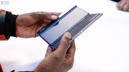 华为折叠屏手机Mate X最新上手视频,看看表现如何!