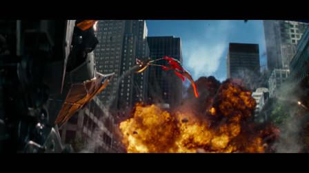 蜘蛛侠又回来了!热血满满!超凡蜘蛛侠2片尾
