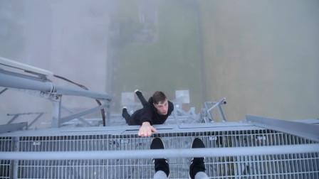 英国私人教练热爱冒险,悬挂在200的高空中,单手做引体向上!