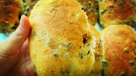 红豆面包新做法,不揉面更不用揉出膜,冷藏一晚,酥脆掉渣又拉丝