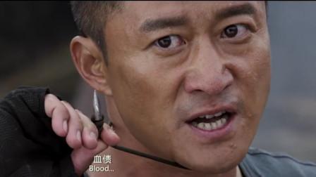 《战狼2》吴京和歪果仁赤拳斗,这样的动作戏看得人心振奋!