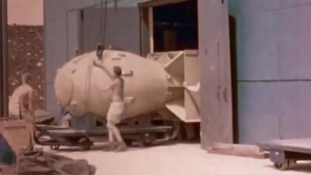 视频再现当原子弹落在日本,整个城市瞬间失去任何色彩和声音!
