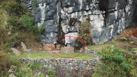 广西壮族农村,这样的山上祖坟为何不立墓碑?来个知道的